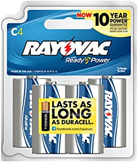 product image for Rayovac Alkaline Reclosable Batteries, C Size, 0.70 Pound