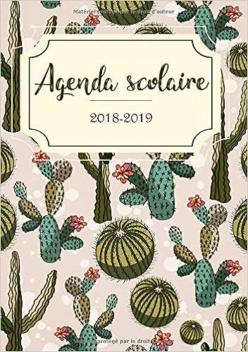 Amazon.com: Agenda 2018-2019: Agenda Scolaire et agenda ...