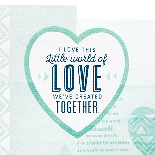 Hallmark Mahogany Father's Day Greeting Card for Husband or Significant Other (Little World of Love) Photo #7