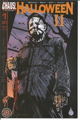 Halloween the Blackest Eyes #1 Michael Myers NM -