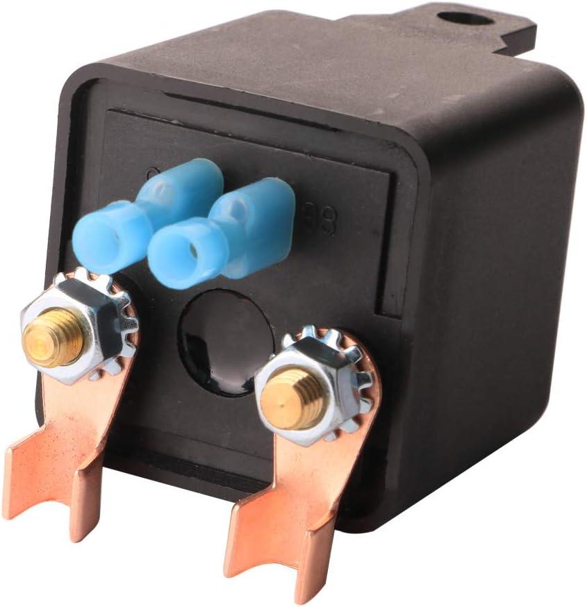 Gebildet 1 pi/èce 24VDC 120A Robuste on//Off Relais pour Automobile//Voiture//Camion//Van//Moto//Bateau avec 2 Pin Empreinte 2 Terminal Normalement Ouvert SPST 4 Pin