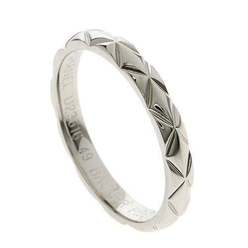 174c7e9913da [シャネル]マトラッセ ラフィネ #49 リング・指輪 プラチナPT950 レディース (中古)