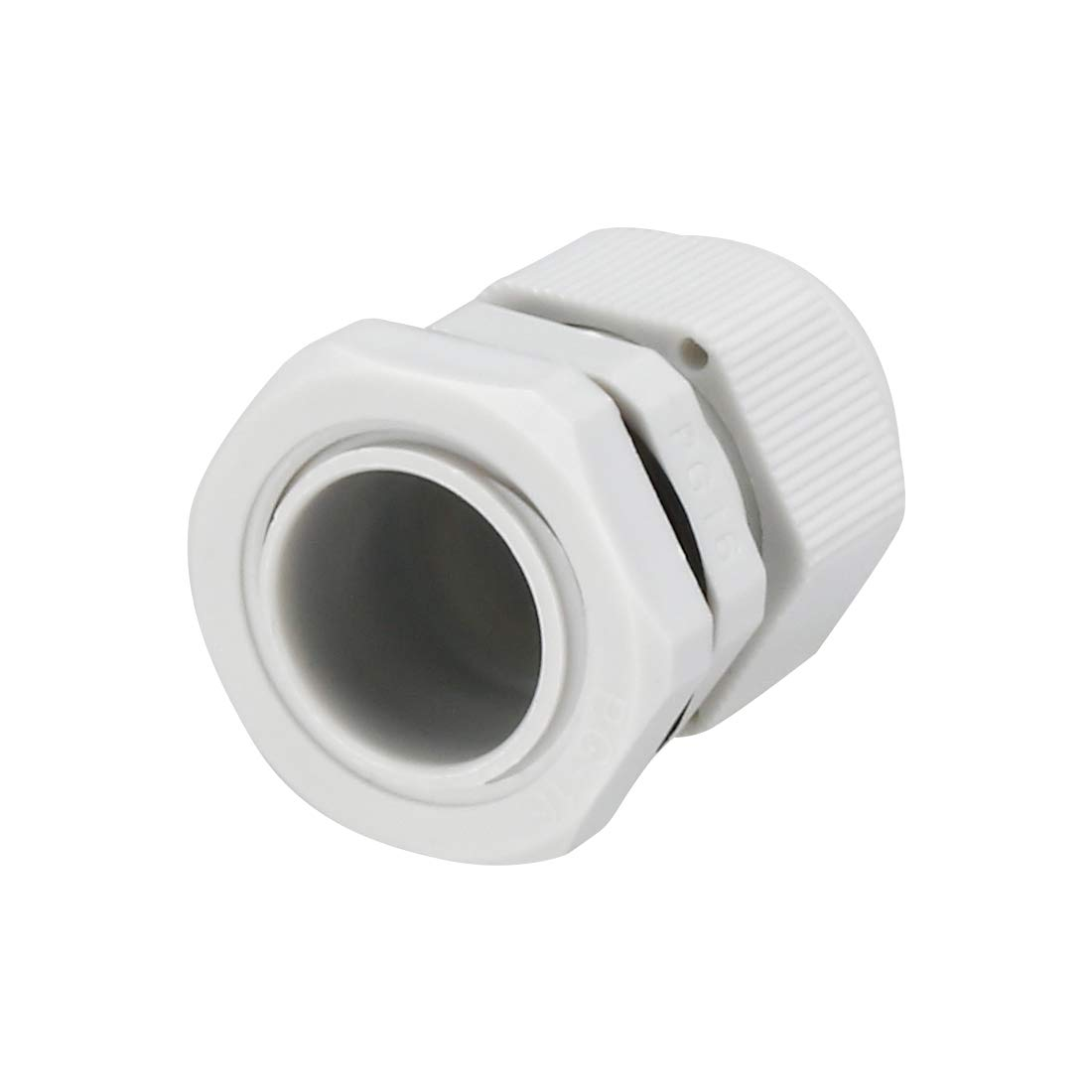 uxcell/® Black PG13.5 Water Resistance Cable Gland Fixing Connector Joints Fastener 100 PCS