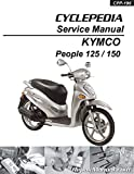 CPP-196-Print KYMCO People 125 150 Cyclepedia Printed Scooter Service Manual