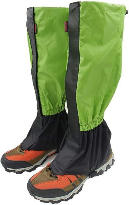 DETHN Polainas De Nieve Impermeable Calor Polainas para Leggings Cubierta De Zapatos para Niños Hombres Mujeres Senderismo Caminar Cazar Esquí ...