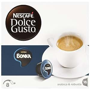 Nescafé Dolce Gusto - Espresso Bonka - Cápsulas de café - 16 cápsulas