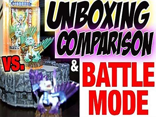 (Unboxing Jade Flashwing Comparison Battle Mode Skylanders)