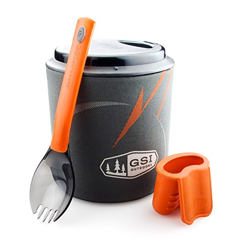 GSI Outdoors - Halulite Minimalist, Cookset for One, Superior Backcountry Cookware Since 1985