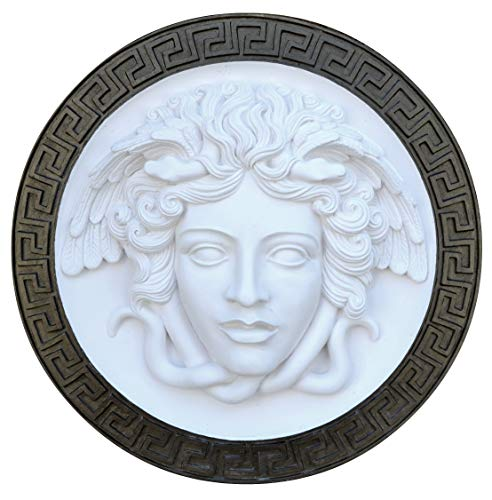 NEO-MFG History Medusa Versace Rondanini Bust Design Gorgon Artifact Carved Sculpture Statue 8
