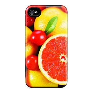 Perfect Manycoloured Fruits Case Cover Skin For Iphone 4/4s Phone Case