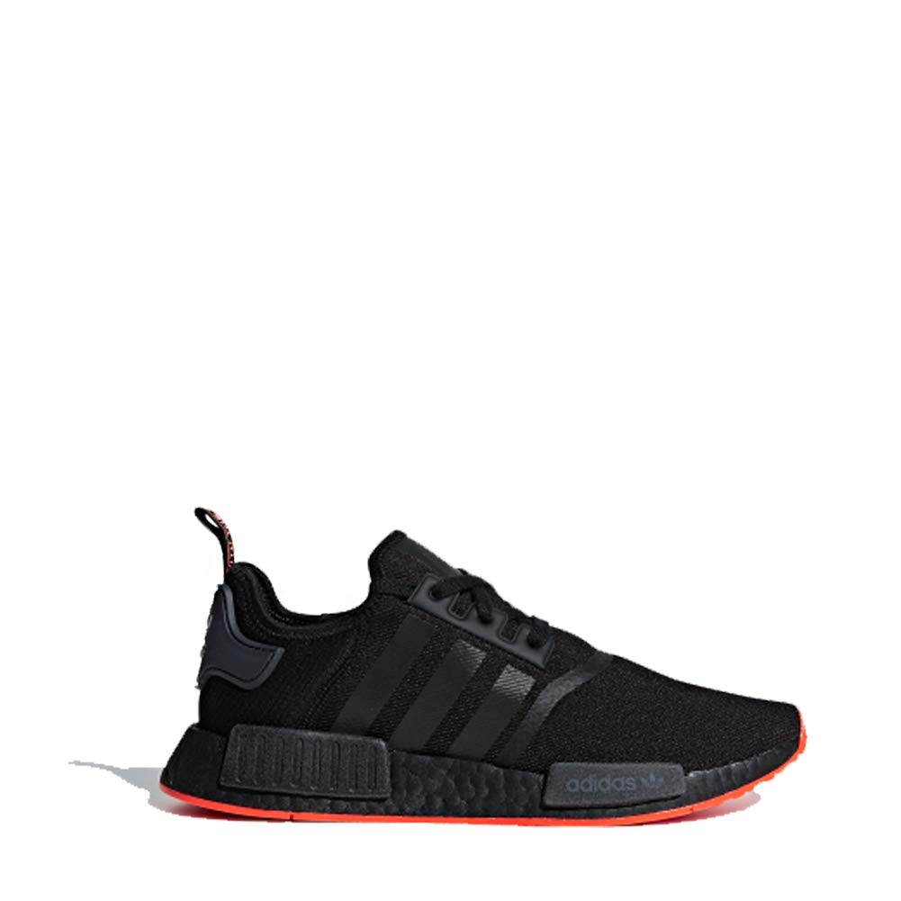 adidas Originals NMD_R1 Shoe Mens Casual 8.5 Core Black-Solar Red by adidas