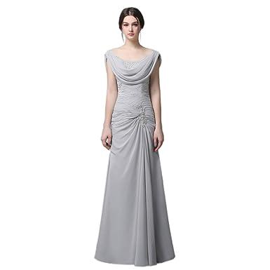i Dui Bridal Sleeveless A line Chiffon Mother of The Bride Dresses Lady  Formal Dress Sequin c3c5e0804