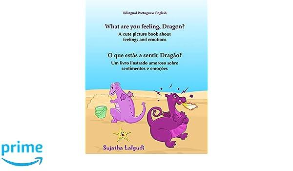 Portuguese book: What are you feeling, Dragon. O que estás a ...