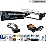 led motorcycle aux lights - Volunteer Audio Sony MEX-N5200BT Single Din Radio PAC Motorcycle Install Kit with Bluetooth, CD Player, USB/AUX Fits 1998-2013 Harley Davidson Electra Glide, Road Glide, Street Glide, Tour Glide