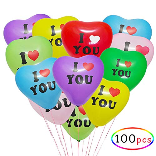 I Love You Heart Balloons,Wedding Latex Balloons, Wholesale Customized Color Balloons Valentine's Day -