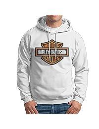 CCABB8 Men's Harley Davidson Long Sleeve Sweatshirt Hoodies