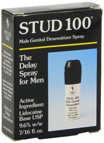 Stud 100 Male Genital Desensitizer Spray, 7/16- Fl Ounce Box