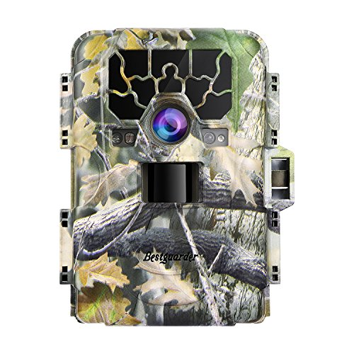 YKS Hunting Camera Trail Game Camera 12MP 1080P 36pcs LEDs Wide Angle Infrared Night Vision up to...