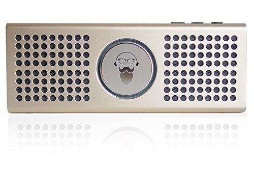 Bearded Blue Premium Stereo Bluetooth Speaker