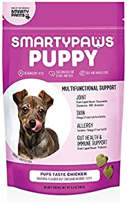 SmartyPants Dog Vitamins and Supplements