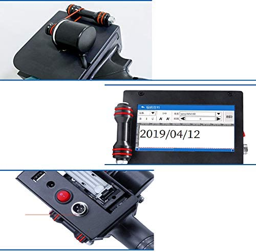 Impresora de inyección de Tinta portátil Pantalla LED Pistola de ...