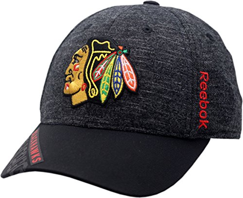 Chicago Blackhawks Playoff Hat Flex Fit 2016 Structured 11569 (S/M)