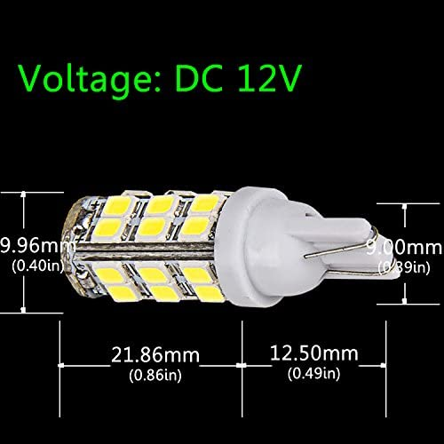 501 T10 W5W 5 SMD LED Canbus Error Free Interior Light Bulbs Vauxhall White #1