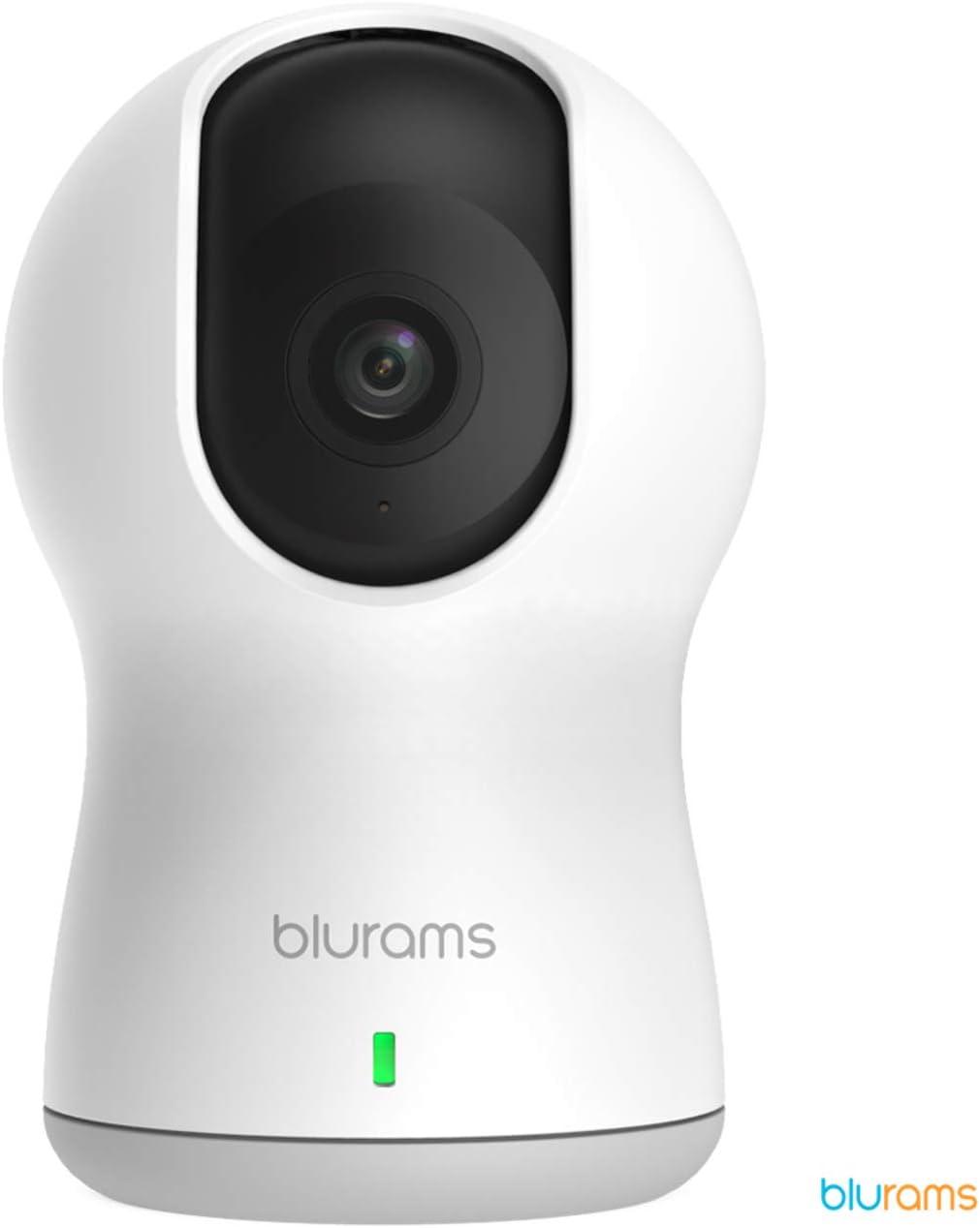 Blurams Dome Lite 720p Cámara de Vigilancia en Domo para Hogar-WiFi Mico-Altavoz Detección Inteligente Movimiento/Sonidos Alertas Tiempo Real Visión Panorámica - Modo Crucero (iOS Android)