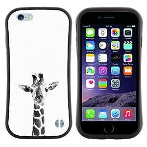 "Hypernova Slim Fit Dual Barniz Protector Caso Case Funda Para Apple (5.5 inches!!!) iPhone 6 Plus / 6S Plus ( 5.5 ) [Blanco Negro minimalista Naturaleza""]"