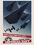 Imperial Navy Starfleet Propaganda Star Wars Movie Art 32x24 Print Poster
