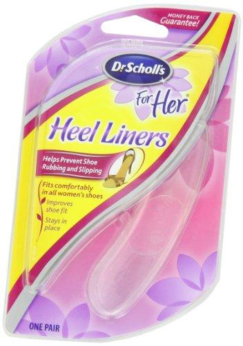 Dr. Scholl's For Her Heel Liners, 1 Pair