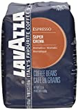 Lavazza Italian ''Super Crema'' Espresso Whole Bean Value Pack (3 x 2.2 lb bags)