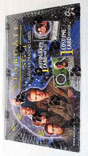 Stargate Sg 1 Costume (Stargate SG-1 Season 4 Trading Cards Box Set - With Autograph and Costume Card)
