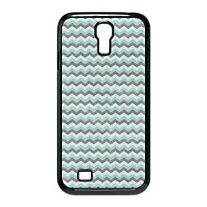 Godstore Custom New Style Colorful Chevron Pattern Cover SamSung Galaxy S4 I9500 Case Kimberly Kurzendoerfer