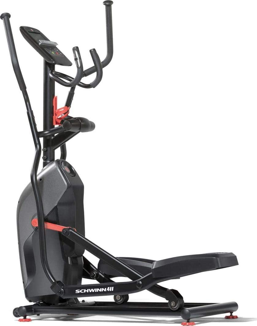 Schwinn 510E Bicicleta elíptica, Unisex-Adult, Negro/Rojo, One Size