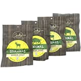 Classic Exotic Jerky Sampler Pack - 4 Types of Wild Game Jerky (Venison Jerky, Buffalo Jerky, Wild Boar Jerky and Elk Jerky) - No Added Preservatives, No Added Nitrates and No Added MSG - 8 total oz.