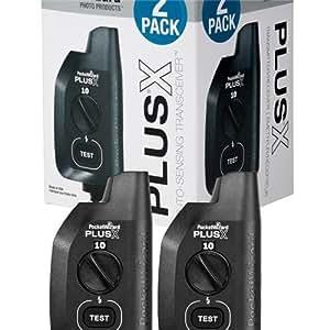 PocketWizard 801-329 Plus X Transceiver, Pack of 2 (Black)