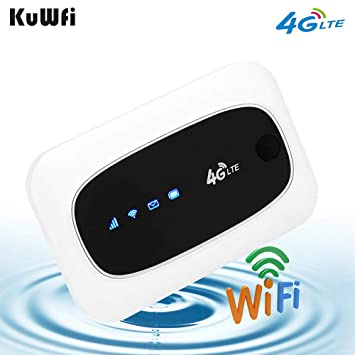 Amazon.com: KuWFi 4G LTE Mobile WiFi Hotspot Travel Router ...