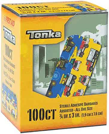 Tonka Bandages - First Aid Supplies - 100 per Pack