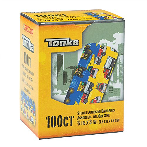 (Tonka Bandages - First Aid Supplies - 100 per Pack)