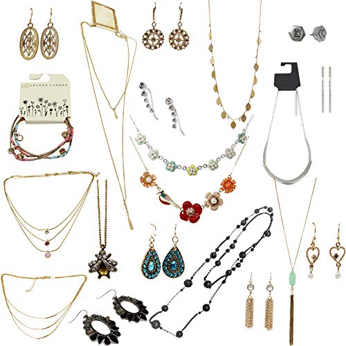 Target Major Department Store Fashion Jewelry Wholesale Lot (100 PK Assorted Jewelry)