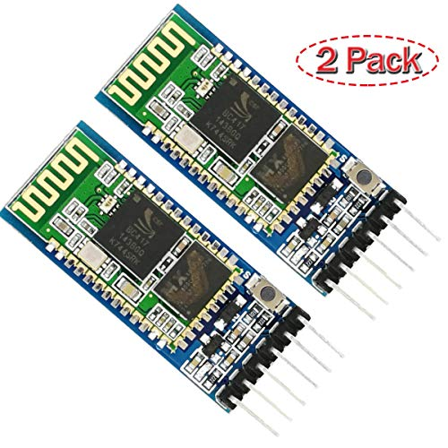 Slave Board - HC 05 Bluetooth Module Arduino Master-Slave Configuration AT Mode Breakout Board by MakerDoIt (2pcs)