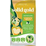 Solid Gold - Holistique Blendz with Oatmeal, Pearled Barley & Ocean Fish Meal - Holistic Sensitive Stomach Dry Dog Food for Adult & Senior Dogs - 28.5lb Bag