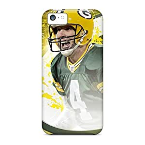 Durable Protector Case Cover With Green Bay Packers Hot Design For Iphone 5c