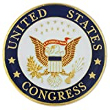 PinMart's United States of America Congress Seal Lapel Pin