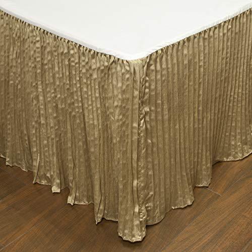 Austin Horn Classics Paradise Peacock Luxury Bed Skirt (King) (Austin Bedskirt)