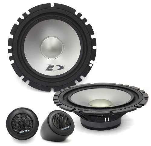 Alpine Type-E Series SXE-1750S Car Audio 6.5-Inch Component 2-Way Speakers (Alpine Speakers Audio Car)