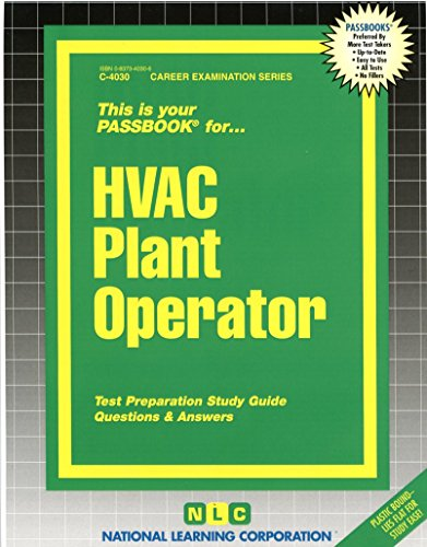 HVAC Plant Operator(Passbooks) (Career Examination Passbooks)