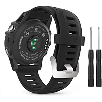 Replacement Band for Garmin Fenix 3/Garmin Fenix 3 HR/Garmin Fenix 5X Fitness Smartwatch Accessories Watch Strap Band