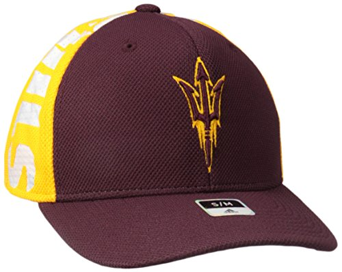 - adidas NCAA Arizona State Sun Devils Men's City Structured Flex with Meshback, Maroon, Large/X-Large